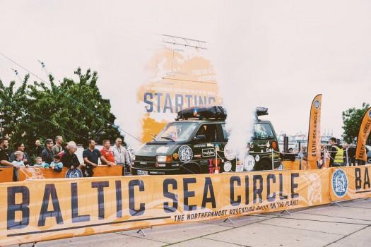 Nord Friesen Mädchen - Baltic Sea Circle Rallye - Etappe 1