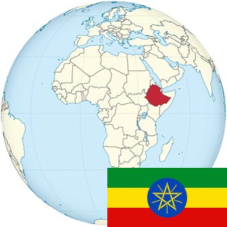 Globus-Äthiopien