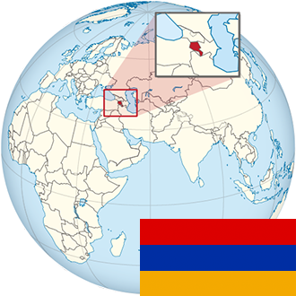 Globus-Armenien