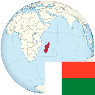 Globus-Madagaskar